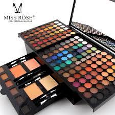 professional multi layer makeup palette sets for women face lip eyes eyeshadow powder blush brand makeup box with mirror brush professional makeup kits