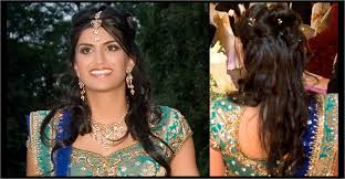 indian wedding reception hairstyles for guests pinmyhair