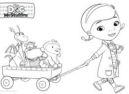 Doc Mcstuffins Coloring Pages To Print Doc Coloring Pages Printable