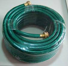 water hose pipe durable non kinking garden hose pvc material with brass hose fittings