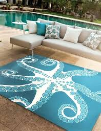 the most awesome beach themed area rugs intended for residence inside ocean design 10