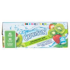 5 of 6 capri sun roarin waters strawberry kiwi beverage 10 count 60 fl oz