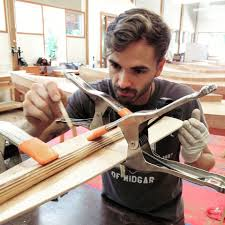 CU Art Opportunities & Announcements: Carey Morton Floats! How a Clemson  University Art Department MFA Candidate Spent Two Weeks of His Summer at  the Penland School of Crafts Building a Wooden Canoe.