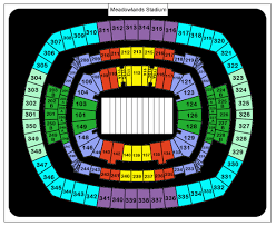 Seating Chart Meadowlands Ny Giants Metlife Stadium