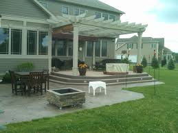 stamped concrete patio. Seamless Slate Patio Stamped Concrete