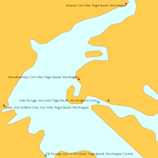 Horsehead Bay Carr Inlet Puget Sound Washington Tide Chart