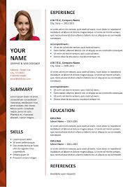 Resume Templates Ms Word Unique Dalston Newsletter Resume Template