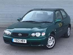 2001 TOYOTA COROLLA VVTI GS, 1.4 ENGINE, 3 DOORS, BRAND NEW MOT ...