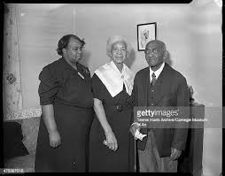 Gertrude Jefferson, Priscilla Finch, and centenarian Duke C Finch ...