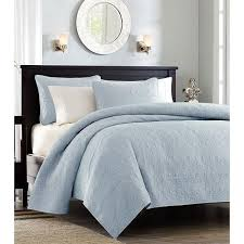 Monterey Light Blue Bedding Quilt Set &  Adamdwight.com