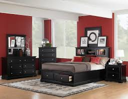 black bedroom furniture wall color.  Black In Black Bedroom Furniture Wall Color N