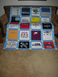 53 best Tee shirt quilts images on Pinterest | Tee shirt quilts ... & t shirt quilt tutorial - get a t-shirt for every place we go on Adamdwight.com