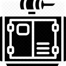 power generator icon. Contemporary Power Generator Power Icon On O