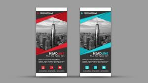 Sample Pull Up Banner Designs How To Design Professional Roll Up Banner Photoshop Tutorial