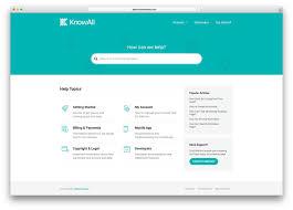 Bootstrap Faq Page Design 10 Best Knowledge Base Wiki Faq Support Ticket