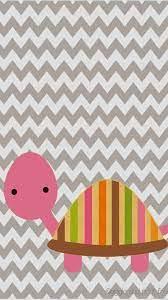 DIY Cute Pink Tortoise Pattern Chevron ...