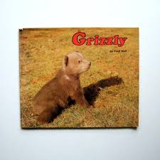 Vintage Book Grizzly 1982 by Pearl Wolf Bears Soft | Etsy