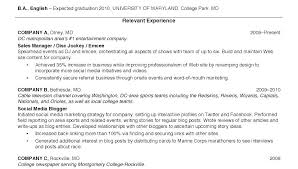 College Graduate Resume Examples Examples Of College Resumes Example ...