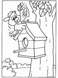 Kleurplaat Vogel Uniek Lente Kleurplaten Groep 3 Archidev