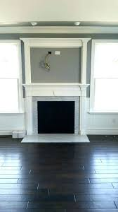 tv over fireplace without mantle above wood fireplace over fireplace without mantle custom gas fireplace with