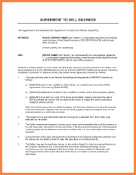 Business Sale And Purchase Agreement Template 13 Business Sale And ...