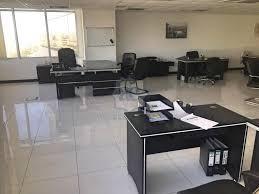 Open Office Design Simple Open Plan Fitted Furnished Office Mazaya AA48 JLT AER39048