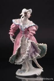 Девушка в <b>розовом</b> платье, Karl Ens, Германия, 1920-30 гг ...