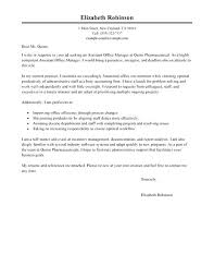 Resume With A Cover Letter Inspiration Medical Office Manager Cover Letter R Quickplumberus
