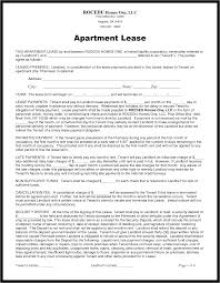 apartment lease agreement form rental sample best photos of it