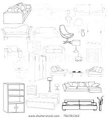 Image Vector Furniture Sketches Furniture Sketches Interior Design Furniture Sketches Pdf Melodyleroycom Furniture Sketches Melodyleroycom