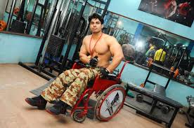 meet india s very own arnold this man beat cancer and paralysis to bee the nation s first wheelchair bodybuilder