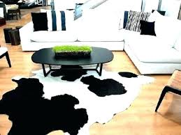 faux cowhide rug white rug faux cow beautiful small fake cowhide size pink rugs fake cowhide