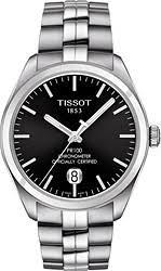 men s tissot watches watchtag com tissot pr100 automatic stainless steel men s watch t1014081105100