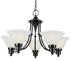trans globe 6545 bn contemporary chandeliers 24in brushed nickel metal 5 light