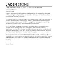 Great Cover Letter Example Best Houseperson Cover Letter Examples LiveCareer 5