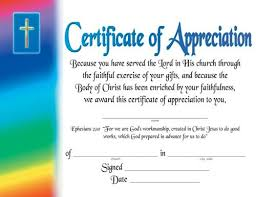 Certificate Of Excellence Template Word Stunning Certificate Of Appreciationreligious Certificate Of Appreciation