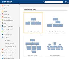 org charts templates make organizational charts in word with templates from smartdraw