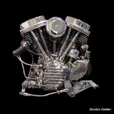 no 1 classic iconic harley davidson panhead chopper motorcycle