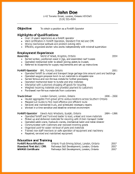 Resume Objective Examples For Warehouse Worker Of Resumes Summer Job