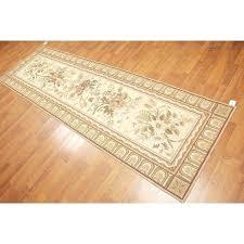 shabby chic fl needlepoint runner area rug rugs furniture of america fresno