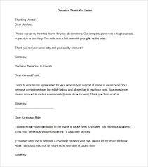Donation Letter Template Bravebtr