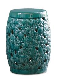 ceramic garden stool. Wonderful Stool Ceramic Garden Stool  Sea Life  Intended M