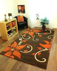 orange and brown rug orange and brown rug burnt orange living room rugs rug designs orange