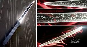 Saberforge Light Whip Blade Who Sells Black Lightsaber Blades Darksaber Style