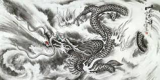 chinese paintings dragon dragon 66cm x 136cm 26 x 53 4744002 z