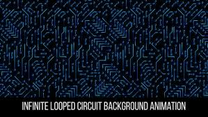 3 In Pack Infinite Looped Circuit Background By Rodionova Videohive