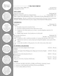 Supply Chain Cover Letter Supply Chain Underclass Resume Duquesne Resume Cover Letter