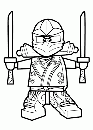 Coloring Pages Lego Ninjagooloring Pages Best For Kids Kai Free
