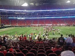 Atlanta Falcons Seating Chart With Rows Simplefootage Mercedes Benz Stadium Atlanta Ga Seating Chart