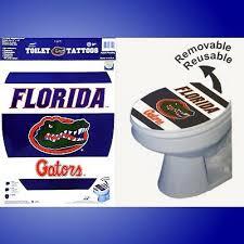 university of florida gators toilet